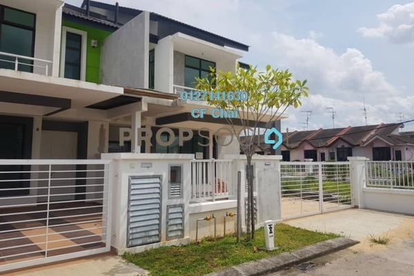 For Rent Terrace at Taman Uda Utama, Johor Bahru Freehold Fully Furnished 4R/4B 1.8k