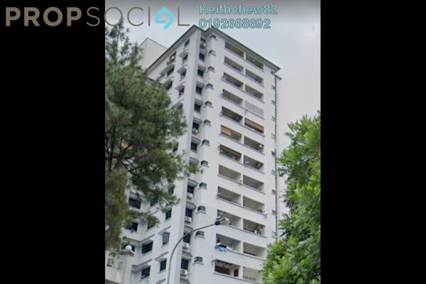 Condominium For Sale in Pinggiran Kiara, TTDI Freehold Semi Furnished 3R/2B 900k
