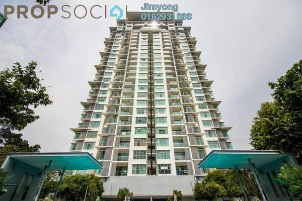 Condominium For Sale in Suasana Bukit Ceylon, Bukit Ceylon Freehold Semi Furnished 1R/1B 720k