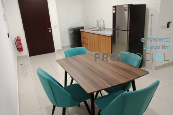Condominium For Rent in The Parque Residences @ Eco Sanctuary, Telok Panglima Garang Freehold Fully Furnished 0R/1B 1.5k