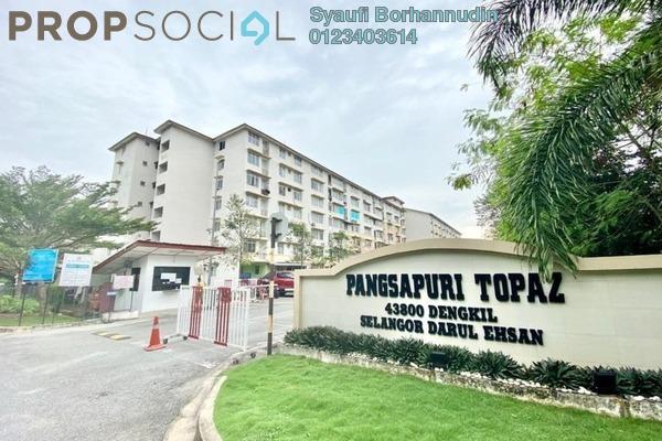 For Sale Apartment at Taman Topaz, Dengkil Freehold Unfurnished 3R/2B 185k