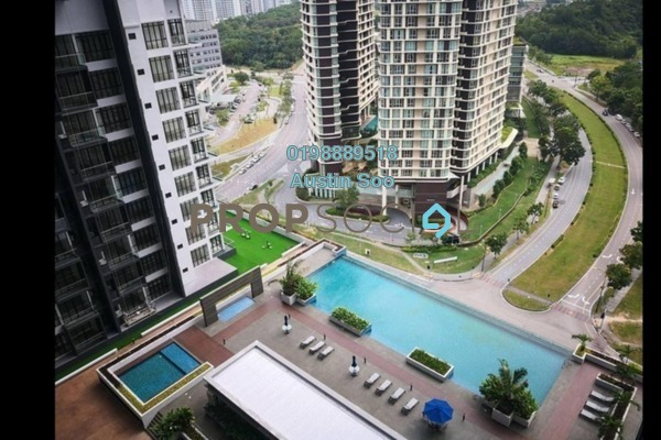 Condominium For Sale in D'Pristine, Medini Freehold Unfurnished 2R/1B 402k