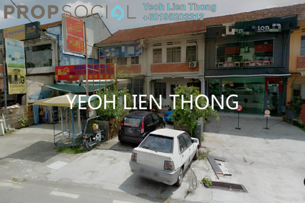 For Sale Shop at Jalan Air Itam, Air Itam Freehold Unfurnished 0R/2B 1.3m