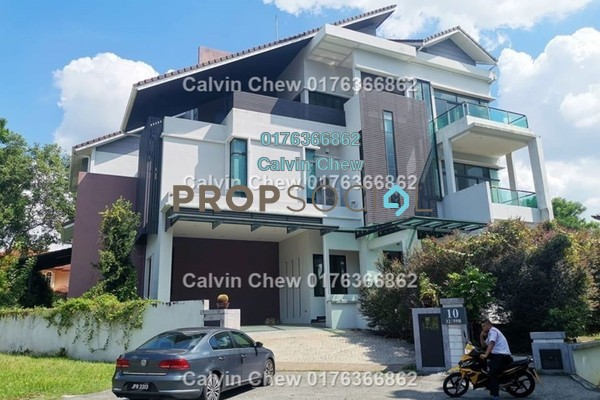 Bungalow For Sale in Sri Suria, Bukit Rimau Freehold Unfurnished 6R/0B 3.97m