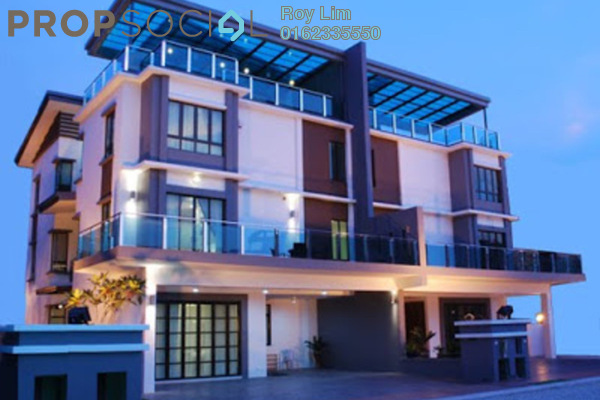 Townhouse For Sale in Duta Suria, Ampang Freehold Semi Furnished 5R/6B 2.2m