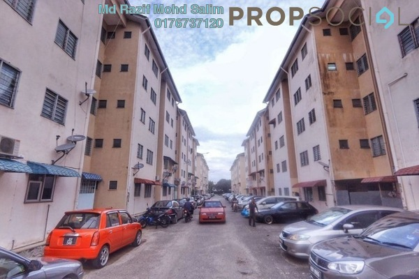 Apartment For Sale in Garden Avenue, Seremban 2 Freehold Semi Furnished 3R/1B 95k
