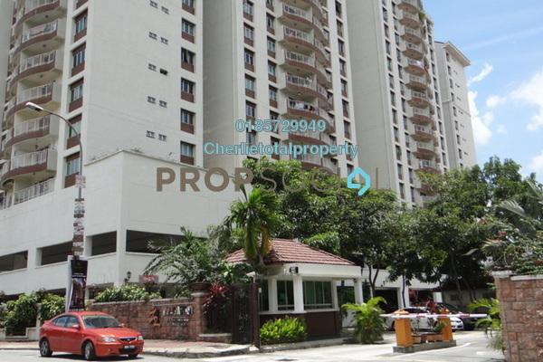 Condominium For Rent in Villa Makmur, Dutamas Freehold Semi Furnished 3R/2B 1.25k