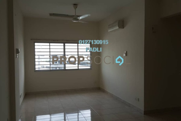 For Rent Condominium at Lagoon Residences, Kota Kemuning Freehold Semi Furnished 2R/2B 1.4k