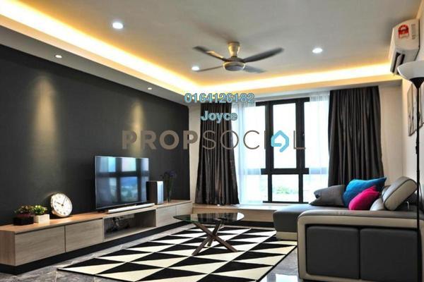 Condominium For Sale in Vista Sentul, Sentul Freehold Semi Furnished 3R/2B 467k