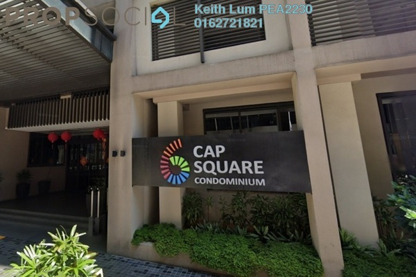 For Rent Condominium at 6 CapSquare, Dang Wangi Freehold Fully Furnished 2R/2B 3k