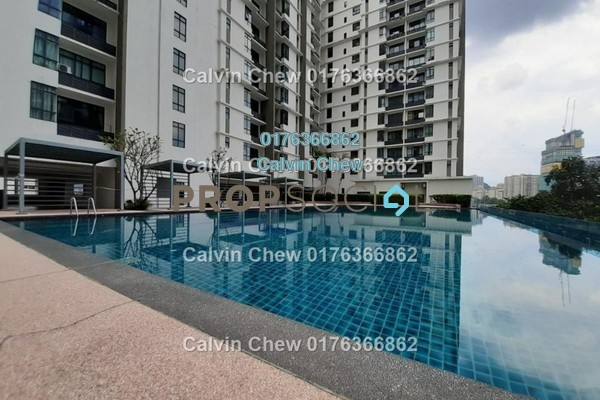 Serviced Residence For Sale in Amaya Maluri, Cheras Freehold Unfurnished 1R/0B 343k