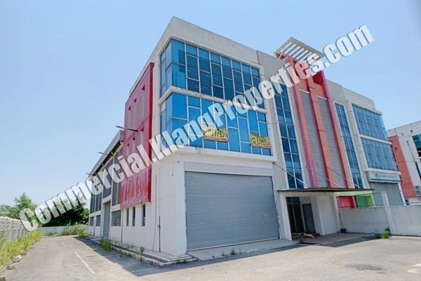 For Rent Factory at Bukit Kemuning Industrial Park, Kota Kemuning Freehold Semi Furnished 0R/0B 15k
