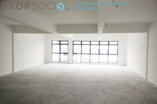 For Rent Office at Oakland Commercial Centre, Seremban Freehold Unfurnished 0R/2B 1.3k