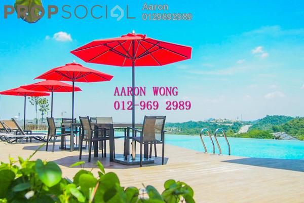 Condominium For Rent in Sutera Pines, Bandar Sungai Long Freehold Semi Furnished 4R/2B 1.3k