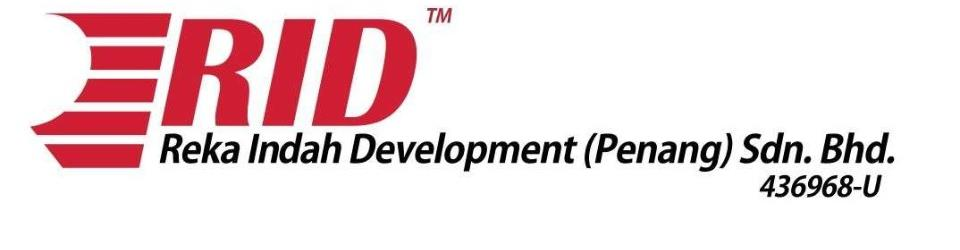 Developed By Reka Indah Development (Penang) Sdn Bhd