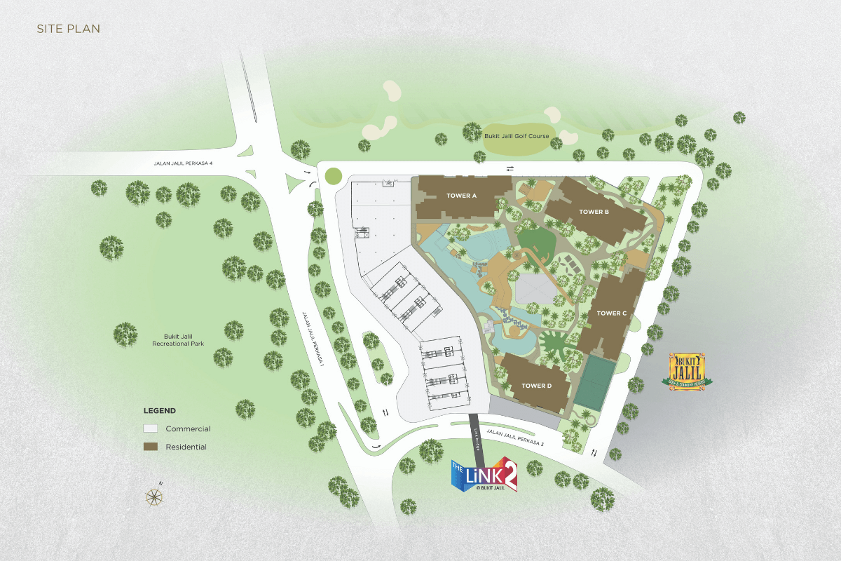 Site Plan of The Tropika
