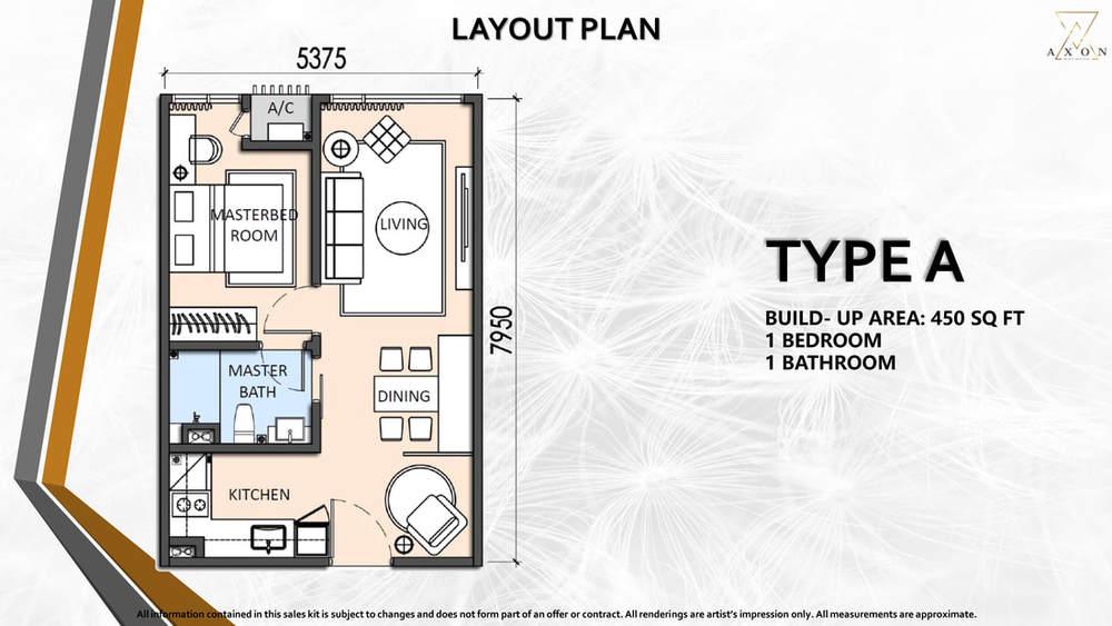 Axon Type A Floor Plan