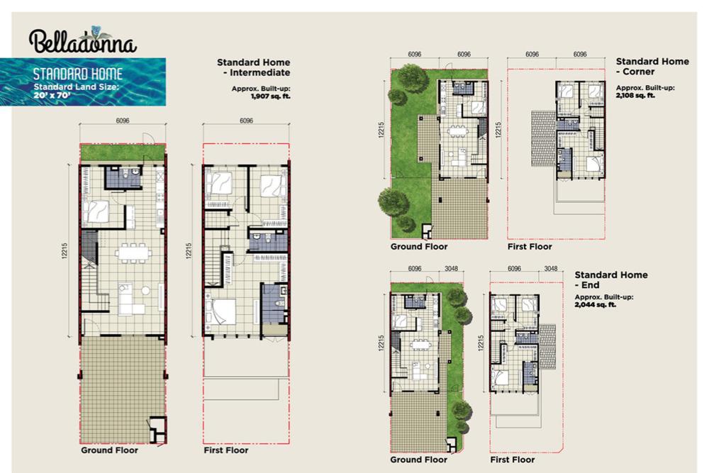 Setia Warisan Tropika Standard Home Floor Plan