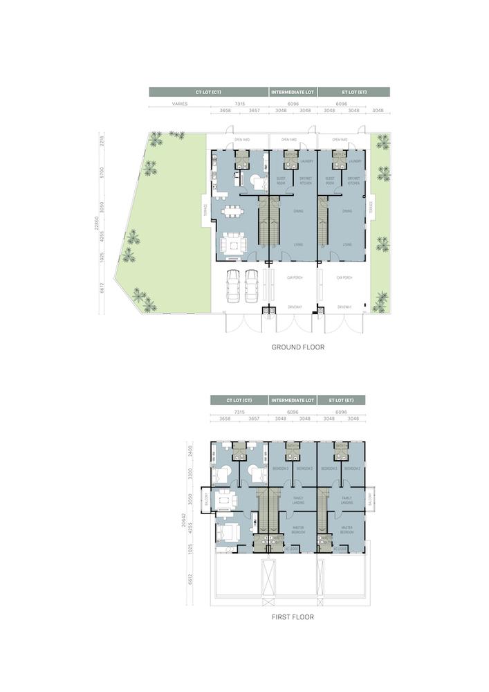 Hijayu Aman Melia I Standard Unit Floor Plan