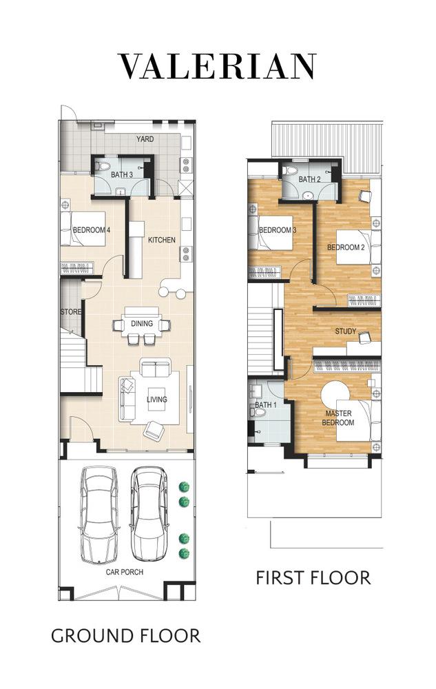 Valerian @ Kundang Estates Valerian Floor Plan