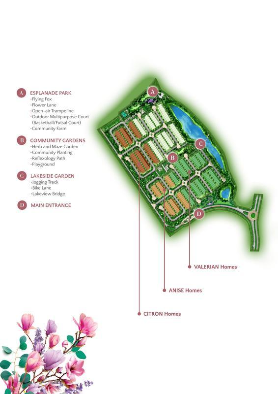 Master Plan of Valerian @ Kundang Estates