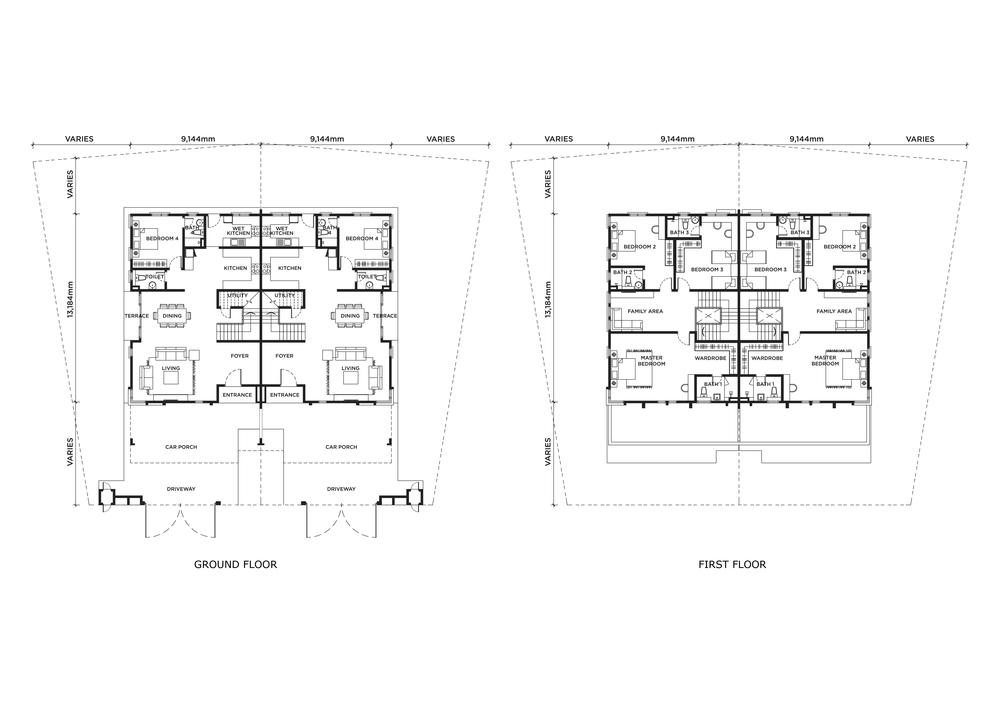 Edence & Florence Edence Floor Plan