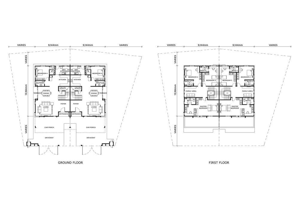 Edence & Florence Florence Floor Plan