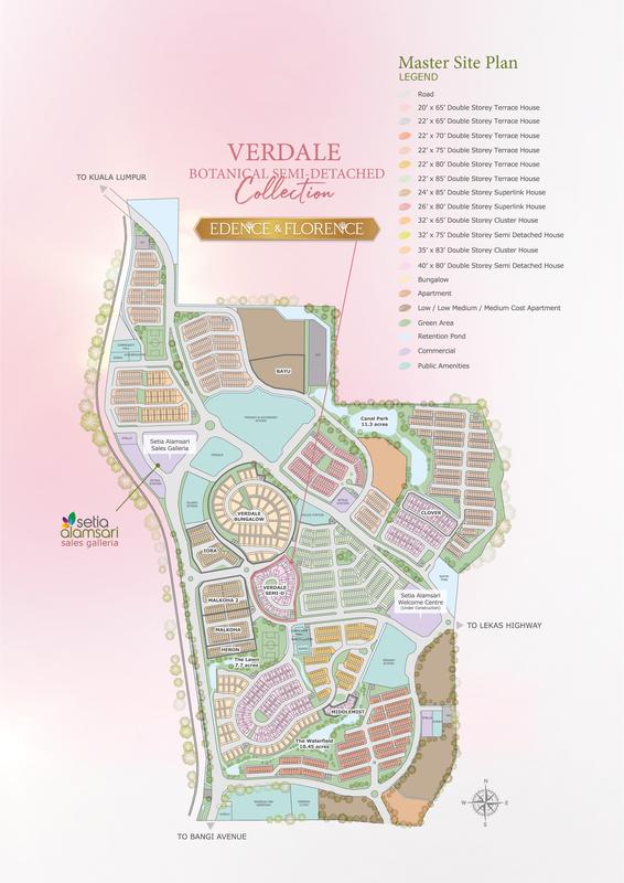Master Plan of Edence & Florence