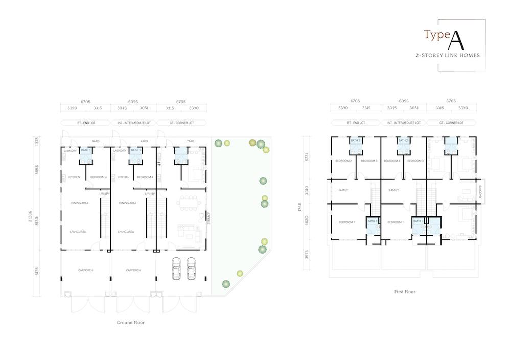 Alaris @ Nusari Bayu 2 Type A Floor Plan