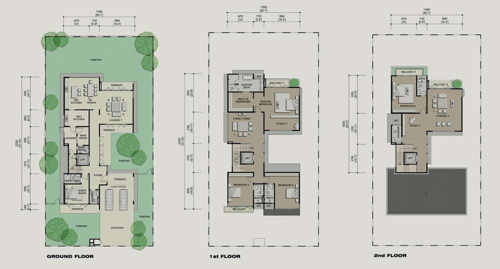Setia Eco Park Andalusia Floor Plan