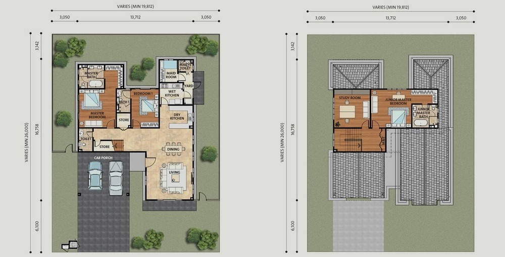 Setia Eco Park Windsor Floor Plan