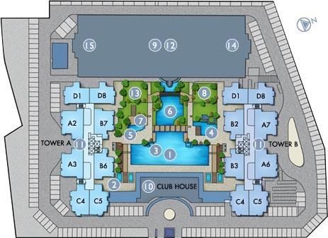 Site Plan of BaysWater