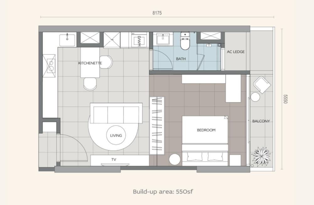 Datum Jelatek Daneeya Type S Floor Plan
