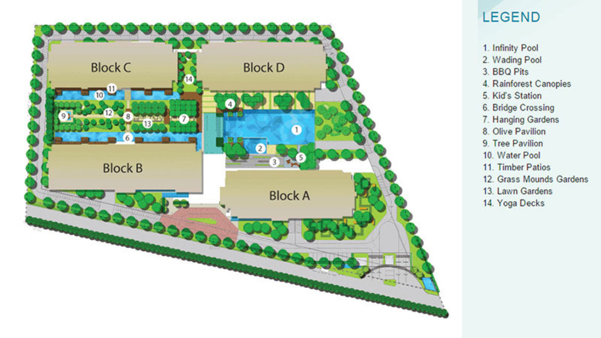 Master Plan of The Z Residence