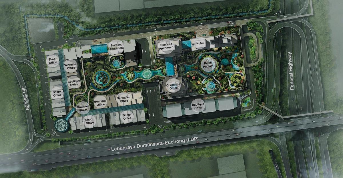 Master Plan of Icon City