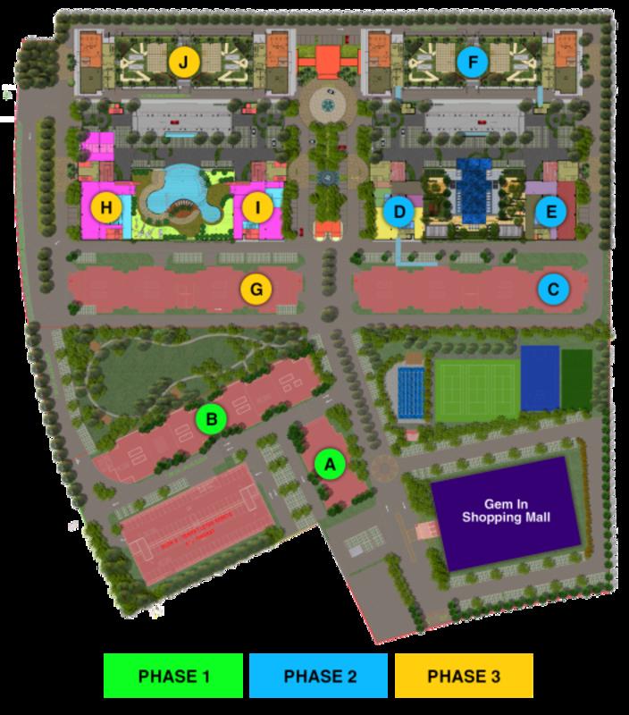 Master Plan of Mutiara Ville