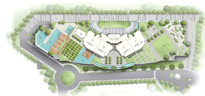 Site Plan of The Light Point