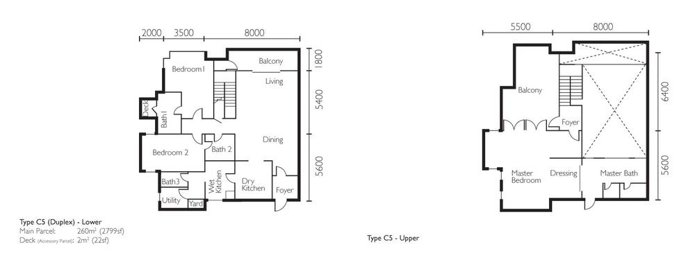 The Light Collection II Type C5 Floor Plan