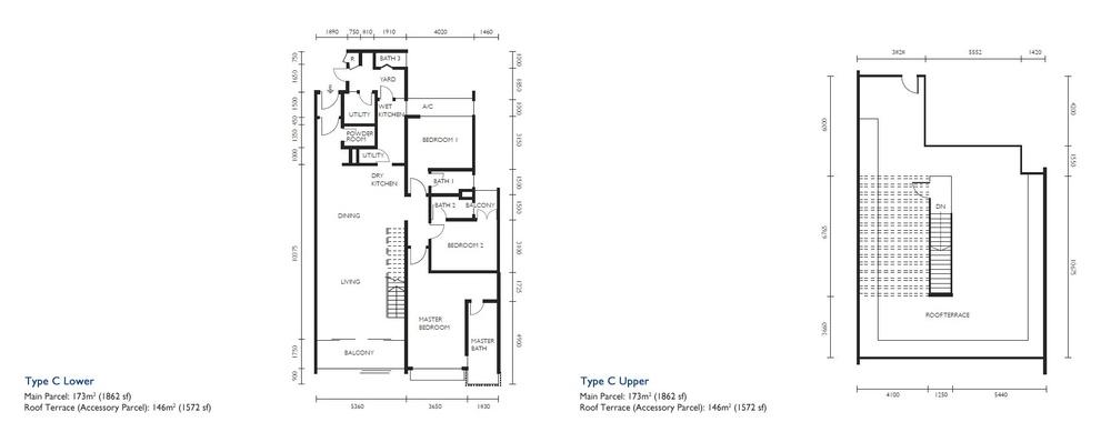 The Light Collection III Type C Floor Plan