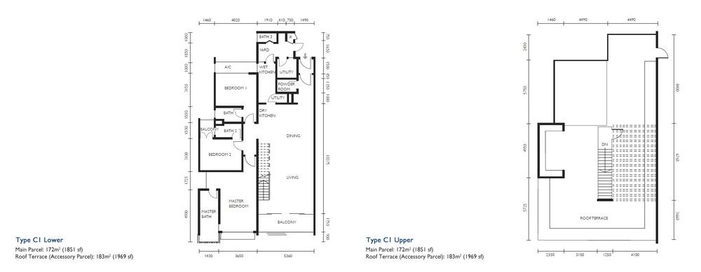 The Light Collection III Type C1 Floor Plan