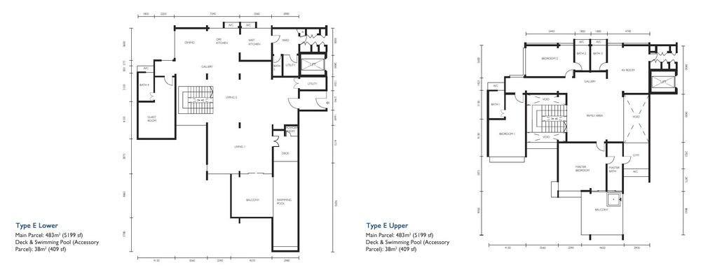 The Light Collection III Type E Floor Plan