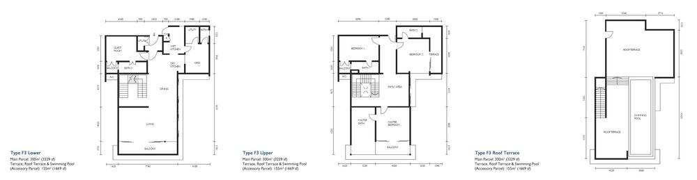 The Light Collection III Type F3 Floor Plan