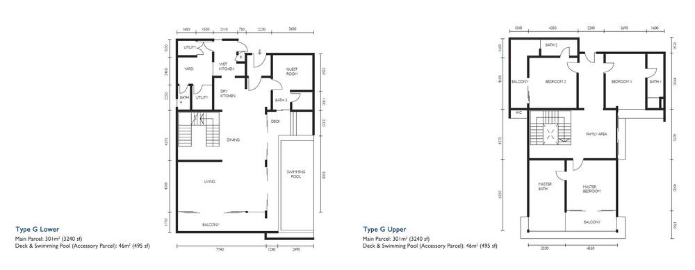 The Light Collection III Type G Floor Plan