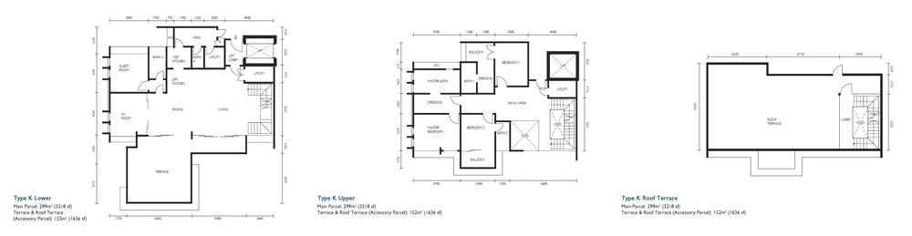 The Light Collection III Type K Floor Plan