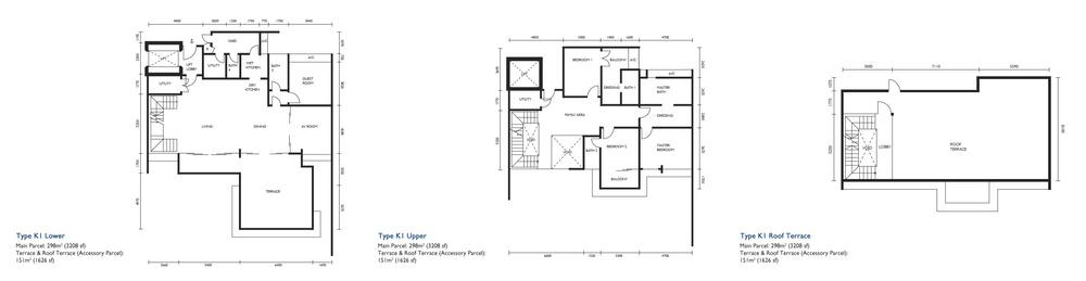 The Light Collection III Type K1 Floor Plan