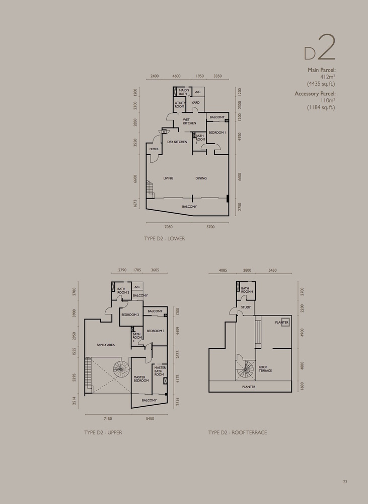 The Light Collection IV Type D2 Floor Plan