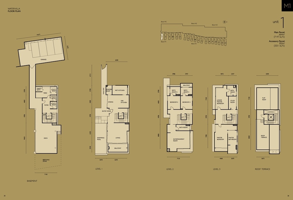 The Light Collection IV M1-01 Floor Plan