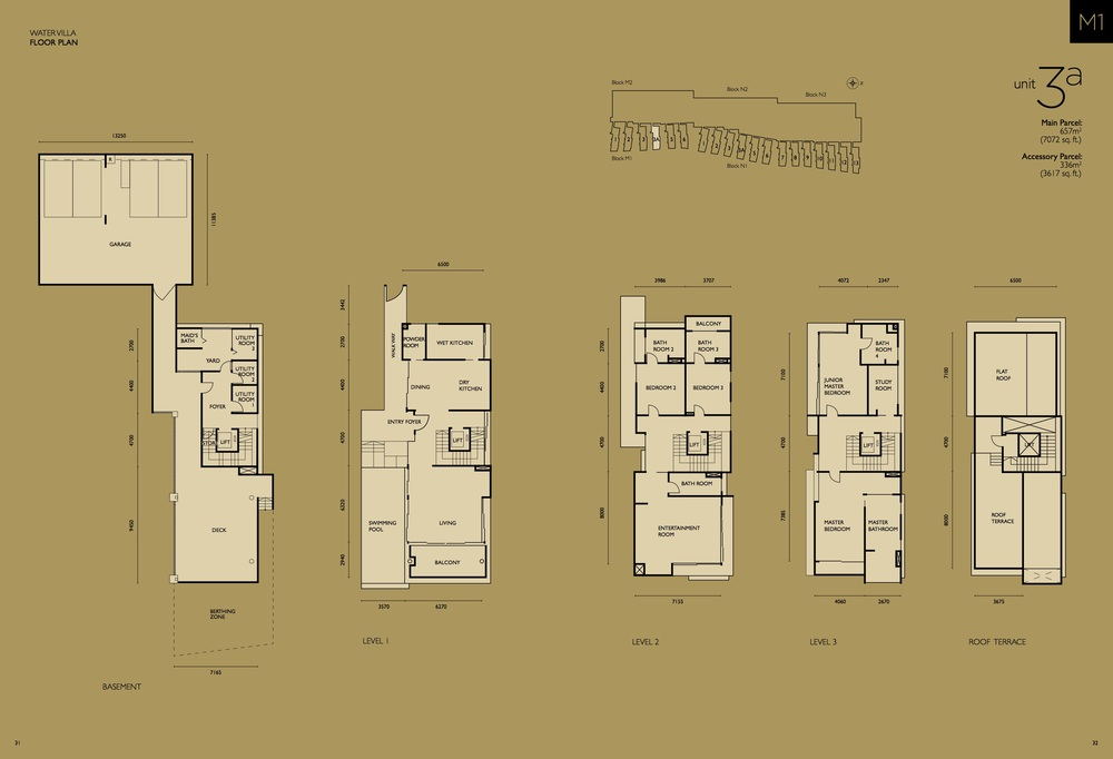 The Light Collection IV M1-03A Floor Plan