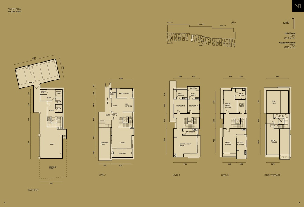 The Light Collection IV N1-01 Floor Plan