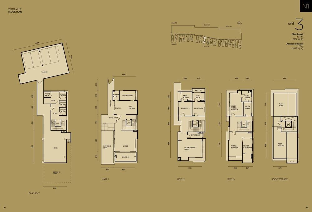The Light Collection IV N1-03 Floor Plan